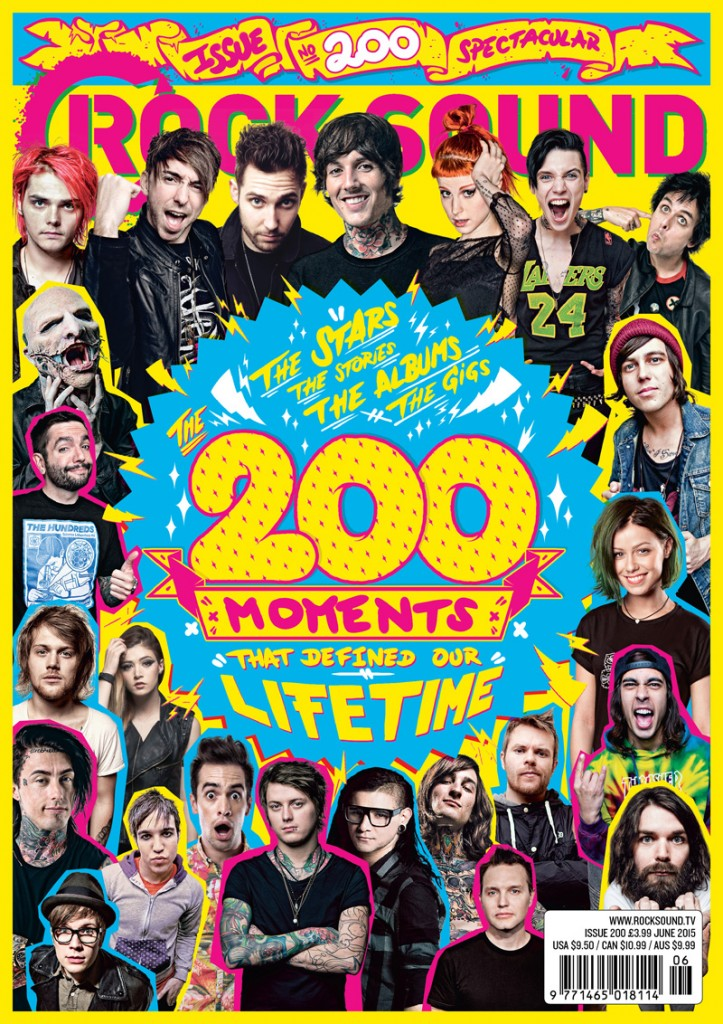 ROCK SOUND 200 COVER